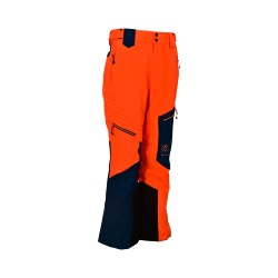 Pantalon de ski homme RODEO - Orange - 5000