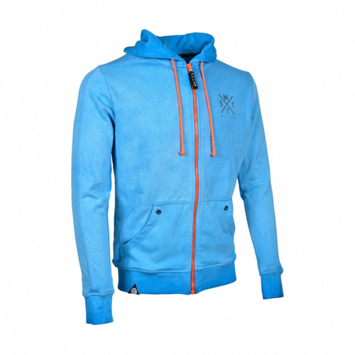 Sweat-Shirt zippé Mixte MUSKA - Bleu - 6642