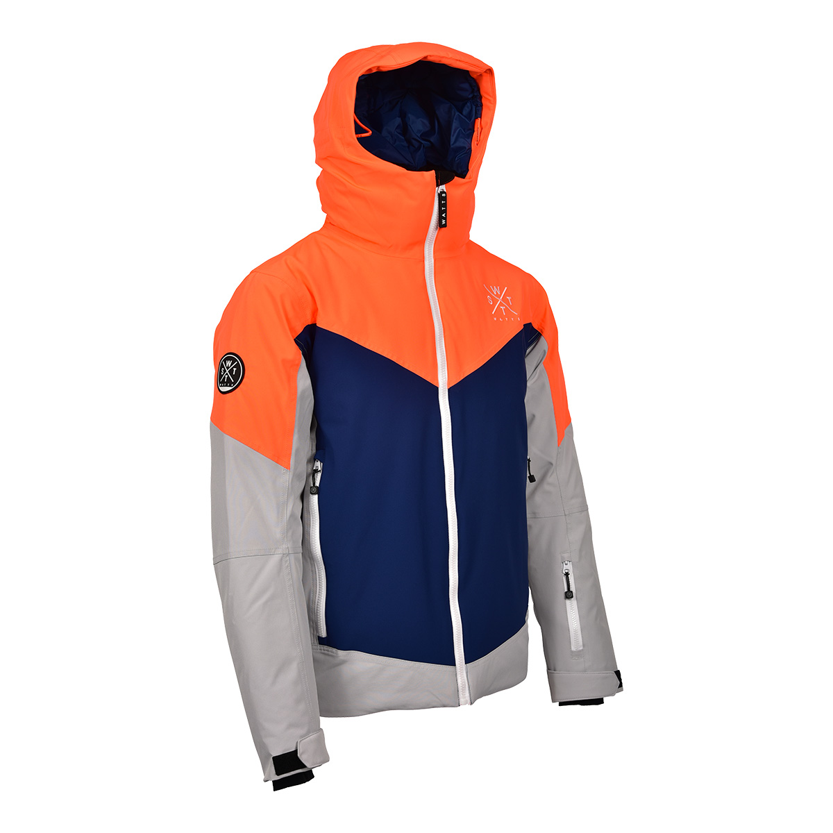 Veste de ski homme MISTY - Orange fluo - 5685