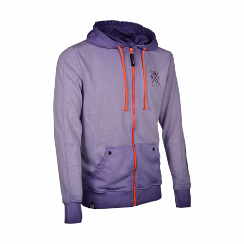 Sweat-Shirt zippé Mixte MUSKA - Violet - 7390