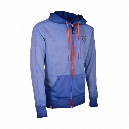 Sweat-Shirt zippé Mixte MUSKA Bleu - Marine - 6396